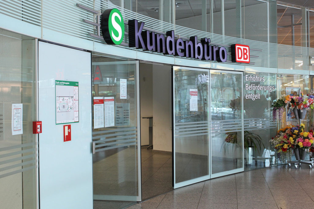 The Kundenbüro at Ostbahnhof where I had to pay an S-Bahn / BVG Fine for Paid for Schwarzfahren (travelling without a valid ticket on public transport) in Berlin