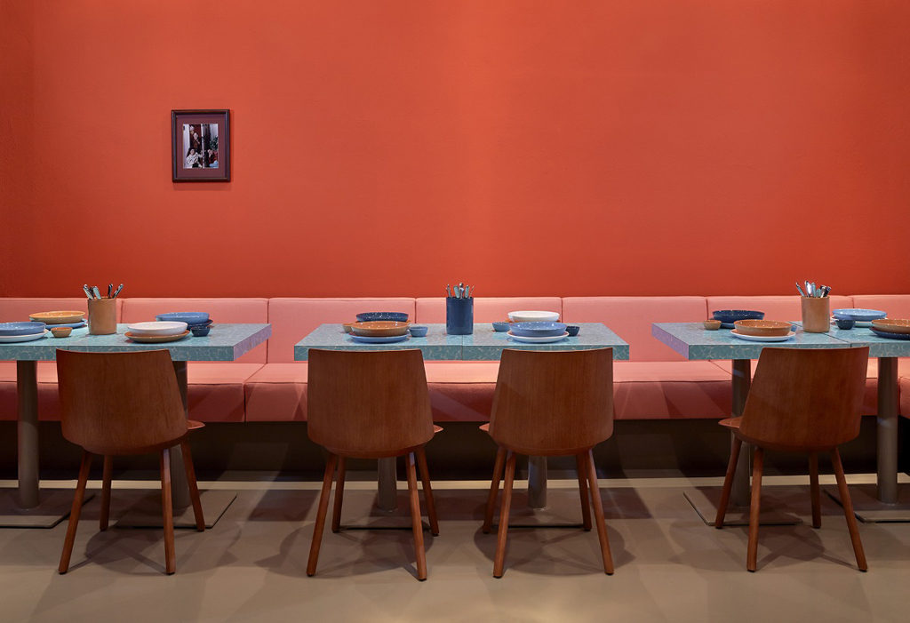 Tables and Chairs at Louis Pretty Berlin - Photo: Steve Herud / Louis Pretty