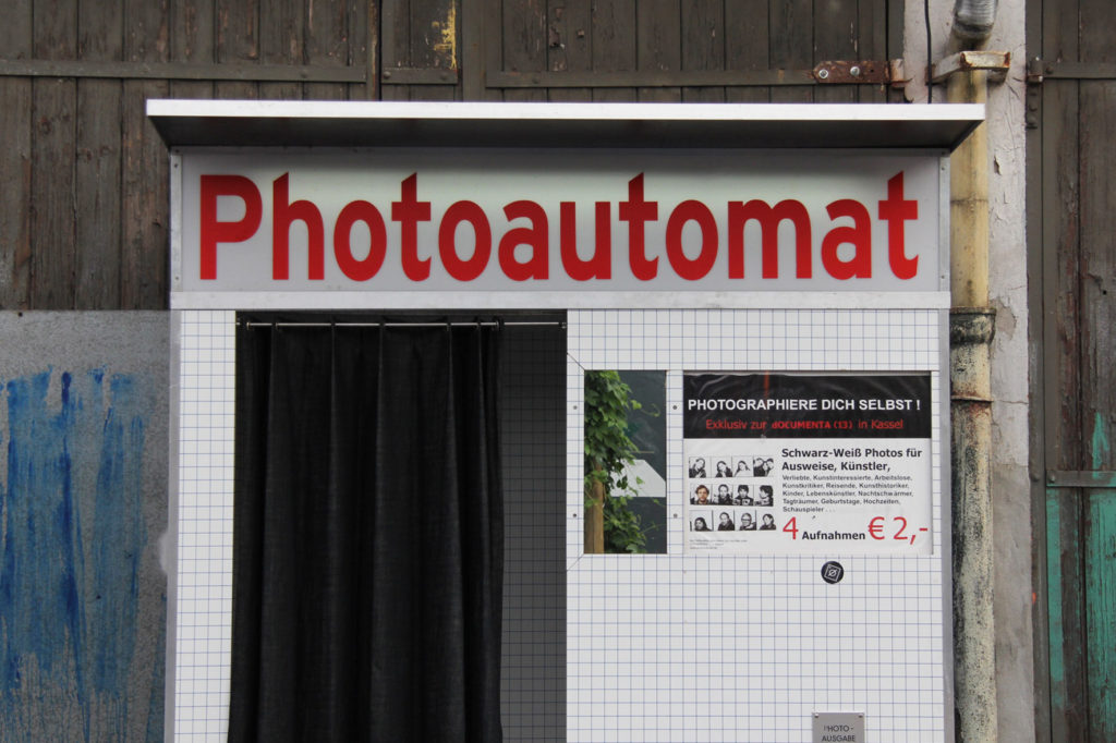 Photoautomat at Birgit & Bier Beer Garden Berlin