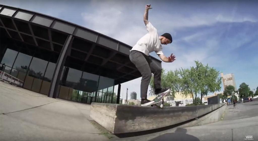 Vans Mexico Skate Team Berlin Tour - still from Mexico Skate Team takes the City of Berlin | Skate | VANS