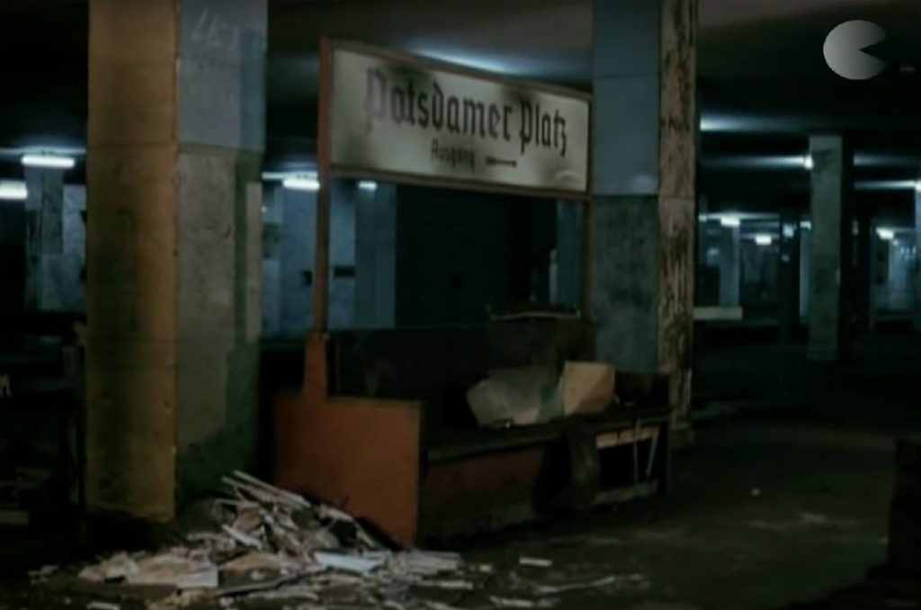 Ghost Station at Potsdamer Platz - Still from S-Bahnhof Potsdamer Platz - Geisterbahnhof bis 1989 by Max Gold