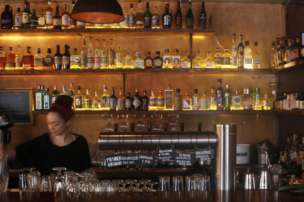 The Bar at Salt n Bone Berlin