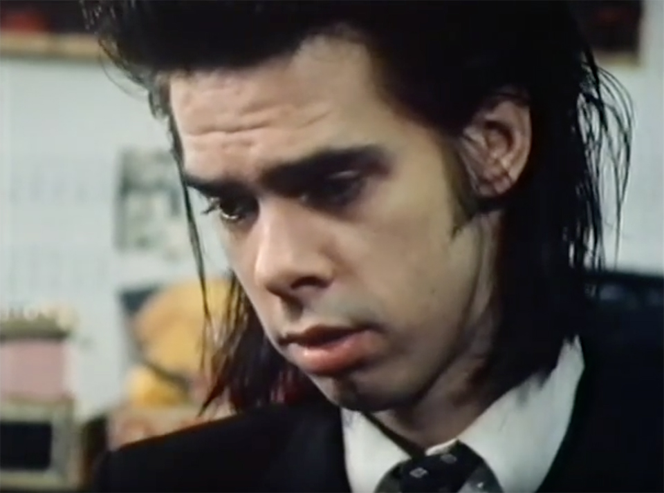Nick Cave - Screenshot aus Stranger in a Strange Land auf YouTube