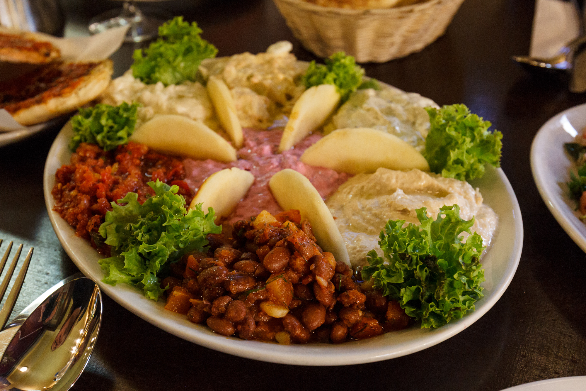 Soğuk Meze Tabaği (Mixed Cold Appetisers Plate) at Caglayan Grillhaus Berlin