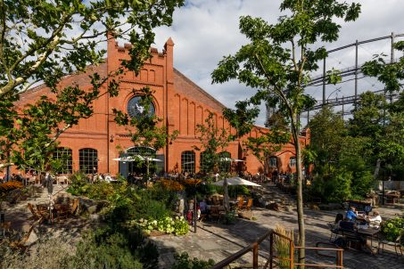 Stone Brewing Berlin, the European headquarters of the US craft brewer in the former Marienfedorf gasworks