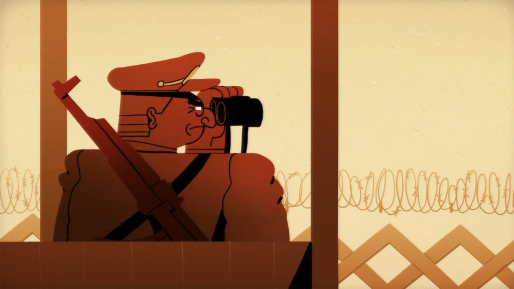 Screenshot from The Rise and Fall of the Berlin Wall - Konrad H. Jarausch by TED-Ed on YouTube