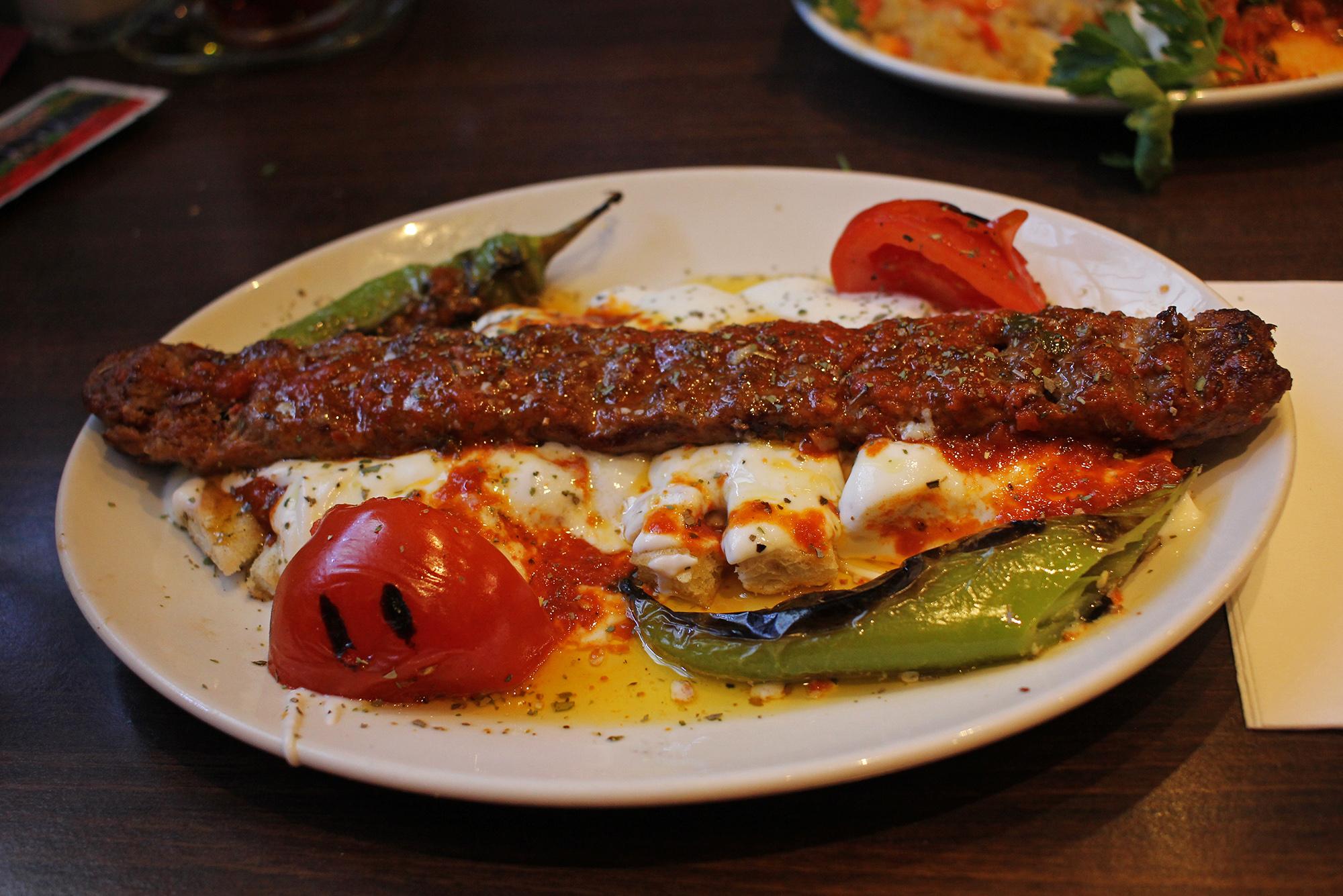 Yoğurtlu Adana at Caglayan Grillhaus Berlin