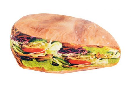 Döner Kebab Pillow from UnitedLabels AG on Amazon