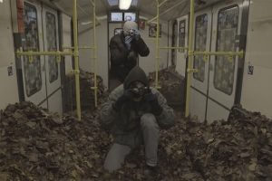 Leaf the Train – An Autumnal Art Intervention by TOY Crew