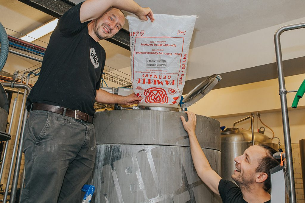 Brewing the official beer of Berlin Beer Week 2018