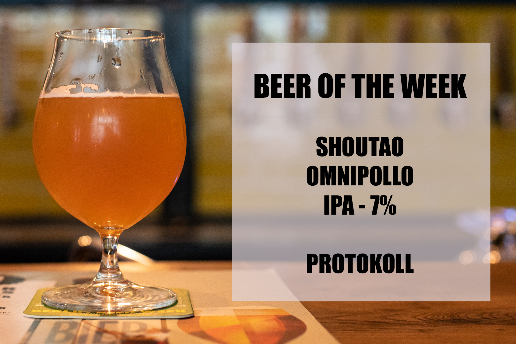 Omnipollo Shoutao at Protokoll Berlin