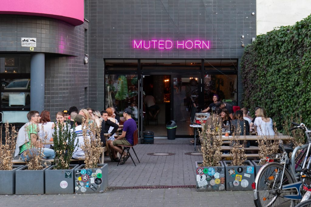 Muted Horn, a craft beer bar in Berlin Neukölln