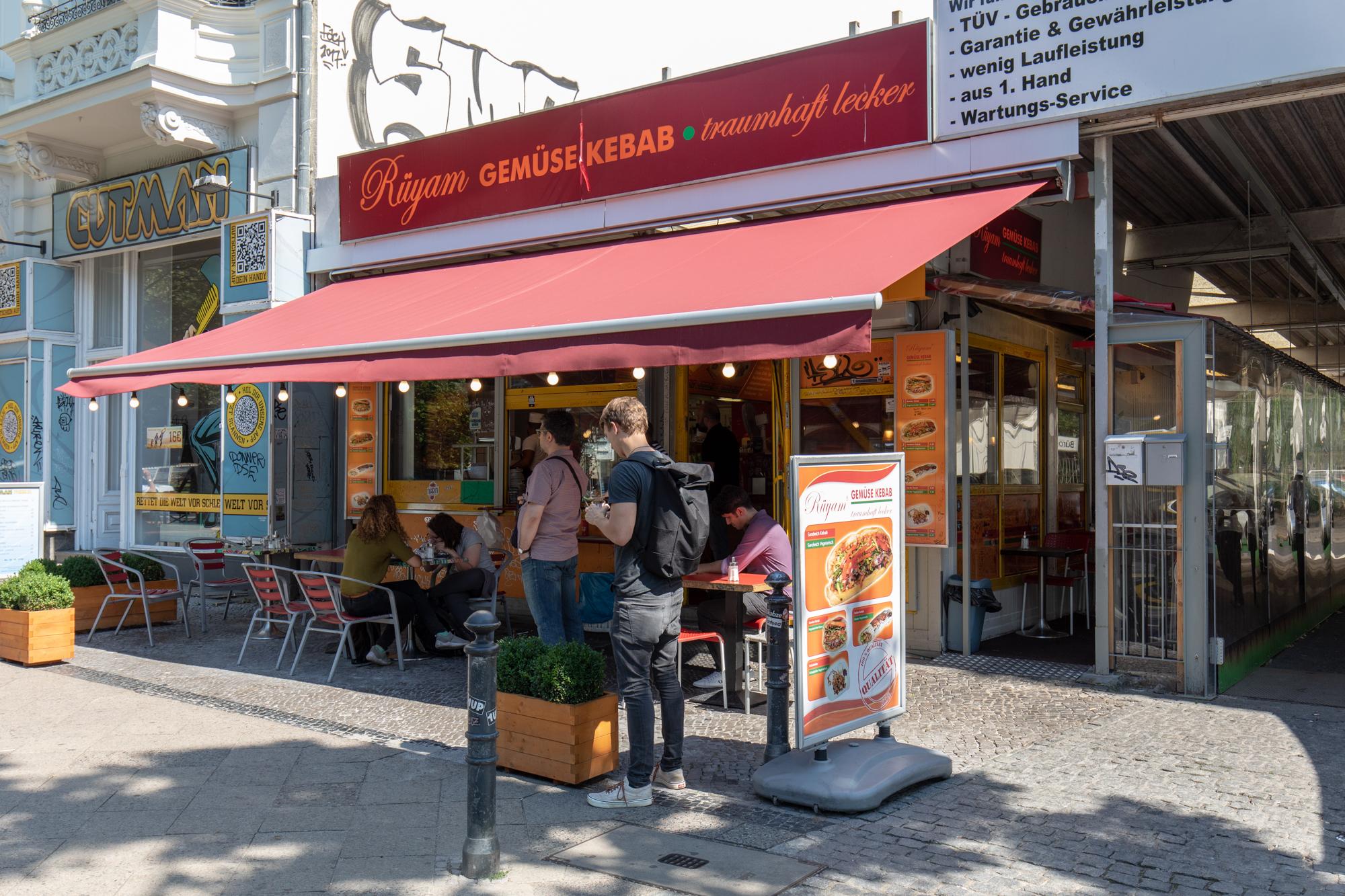 Rüyam Gemüse Kebab Berlin - Mein Traum Kebab - Berlin Love